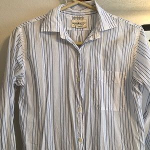 Ralph Lauren thin boyfriend button up (size S)